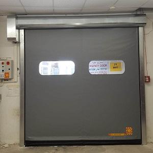 דלת מהירה PVC